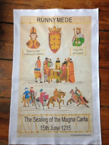 Runnymede tea towel